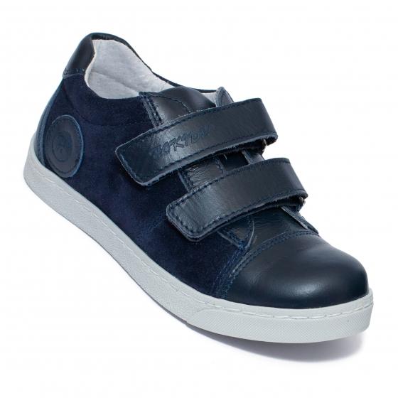 Pantofi baieti sport hokide 398 blu velur 26-37