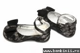 Pantofi balerini fete avus Camos negru 20-27