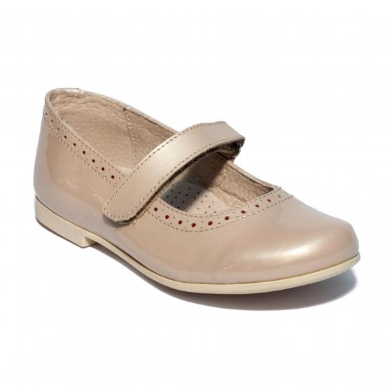 Pantofi balerini fete hokide 421 bej lac 24-35
