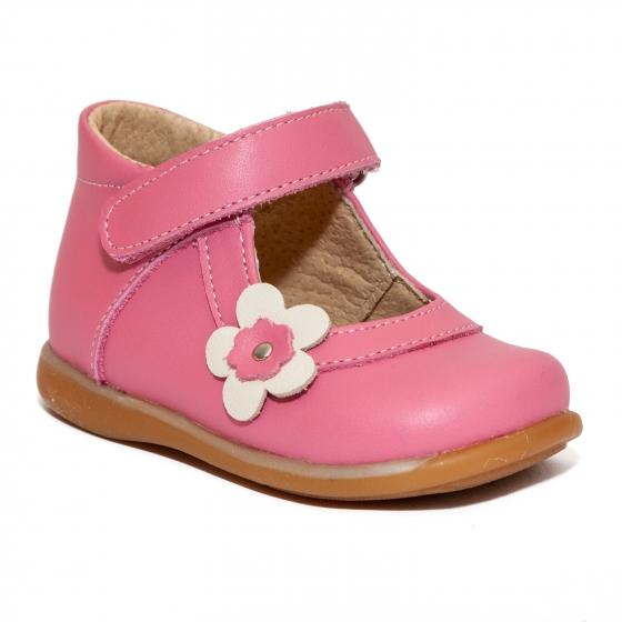 Pantofi balerini fete inalti pe glezna 746 roz alb 18-25
