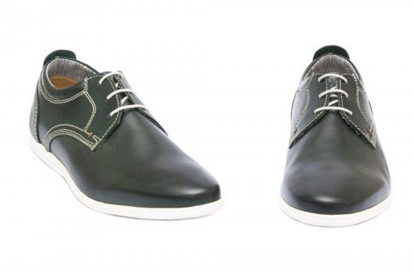Pantofi barbati piele naturala 4103 kaki 39-46