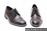 Pantofi barbati piele 8114 maro 40-46