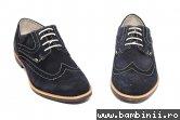Pantofi barbati piele intoarsa 3103 albastru 40-46