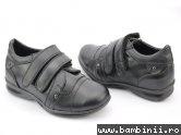 Pantofi copii de scoala 1328 negru
