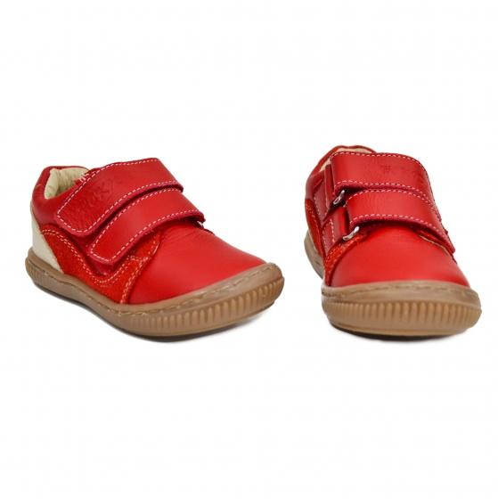 Pantofi copii flexifili sport hokide 458 rosu 19-26