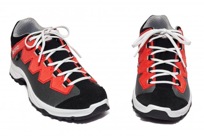 Pantofi copii impermeabili Ibex Rx Tex gri rosu 36-45