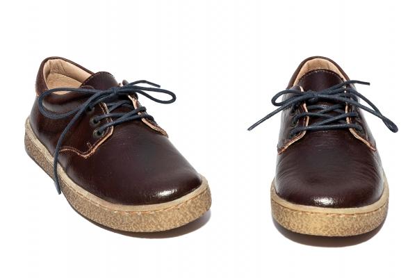 Pantofi copii leofex 101.2 maro bej 26-37