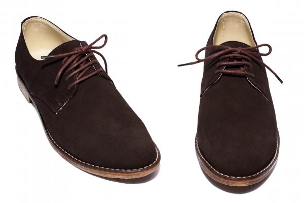 Pantofi copii piele intoarsa 9 maro 36-46