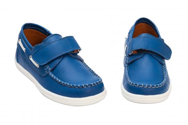 Pantofi copii pj shoes Jose blu arici 27-36