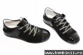 Pantofi copii pj shoes Marika negru