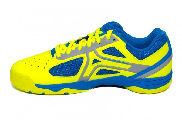 Pantofi copii sport Kempa Wing junior 2017 galben albastru 28-39
