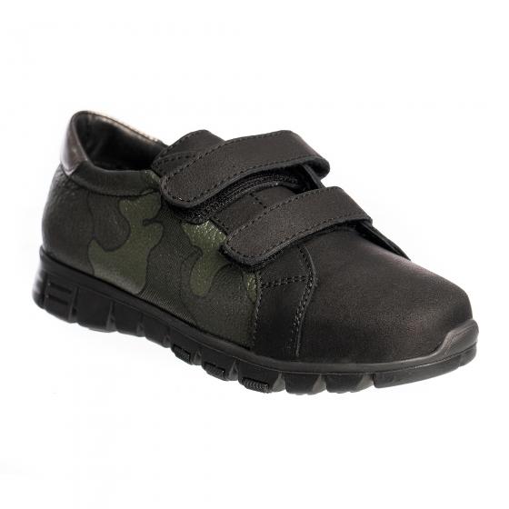 Pantofi copii sport Pj shoes Dream negru camuflaj v 27-36