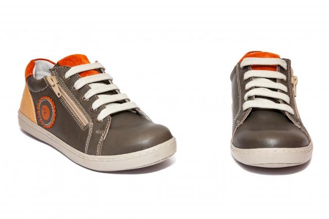 Pantofi copii sport hokide 400 maro port 26-37