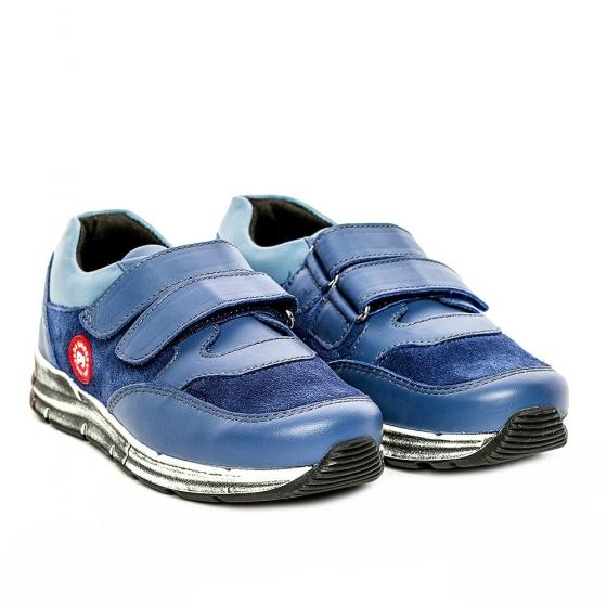 Pantofi copii sport pj shoes Horia blu albastru 27-37