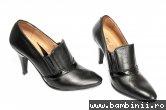 Pantofi dama cu toc 612e negru 34-41