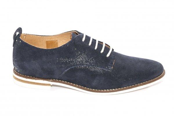 Pantofi dama piele 213 blu 34-41