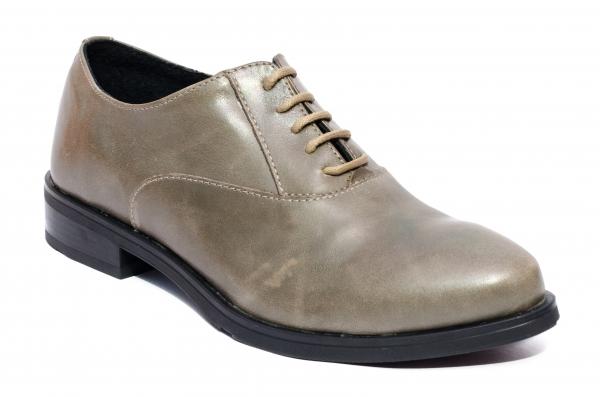 Pantofi dama piele naturala Coco kaki 34-41