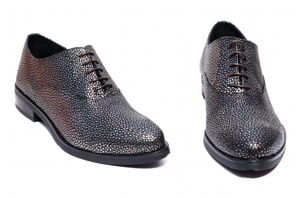 Pantofi dama piele naturala Coco negru arg 34-41