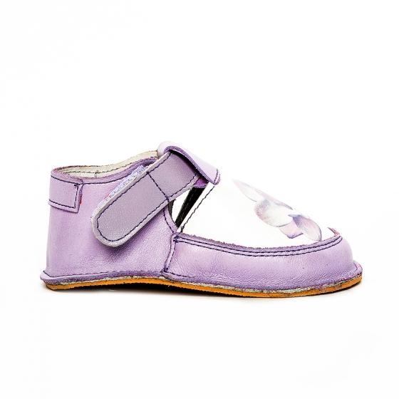 Pantofi fete cu talpa foarte flexibila Woc 010 lila 18-25