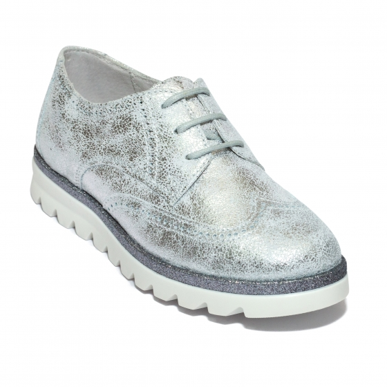 Pantofi fete hokide 404 argintiu 26-37