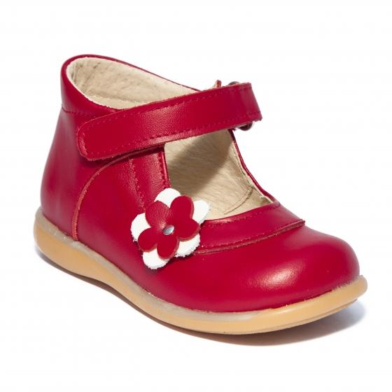 Pantofi fete inalt pe glezna 746 rosu grena 18-25