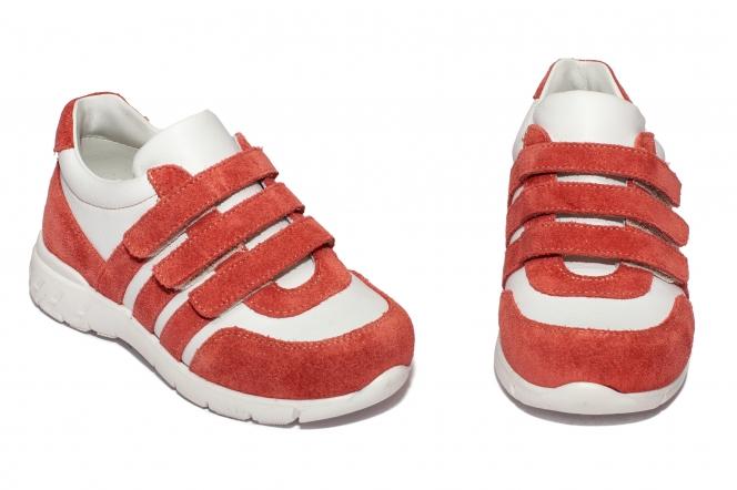 Pantofi fete sport Avus 15 roz alb 20-35