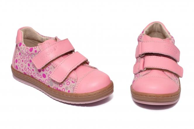 Pantofi fete sport hokide 398 roz buline 26-30