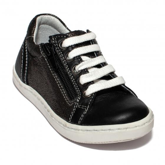 Pantofi fete sport hokide 400 negru lux 20-37
