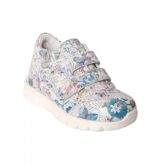 Pantofi fete sport pj shoes Tokyo alb print 18-26
