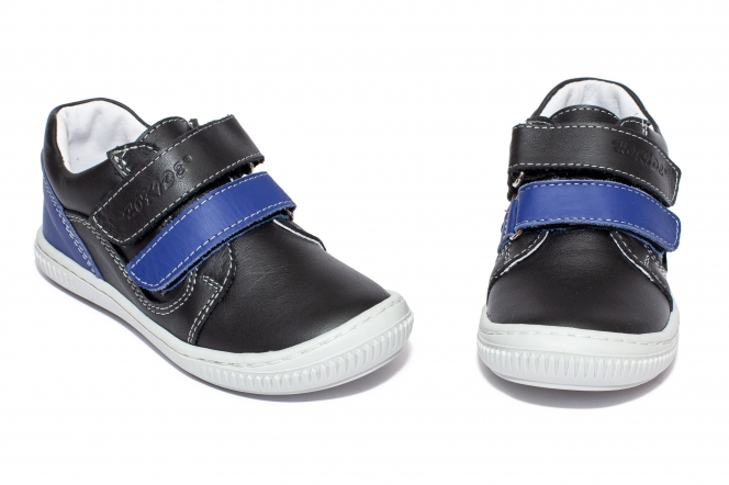 Pantofi flexibili baieti sport hokide 458 negru blu 26-30