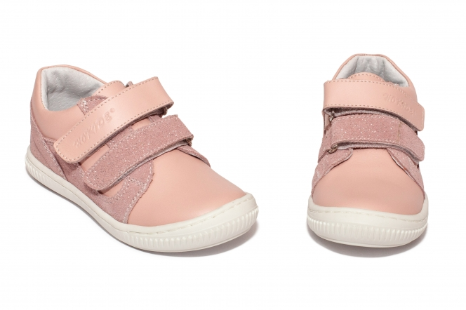 Pantofi flexifili fete sport hokide 458 roz alb 26-30