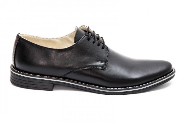 Pantofi barbati piele intoarsa 9 blu 36-46