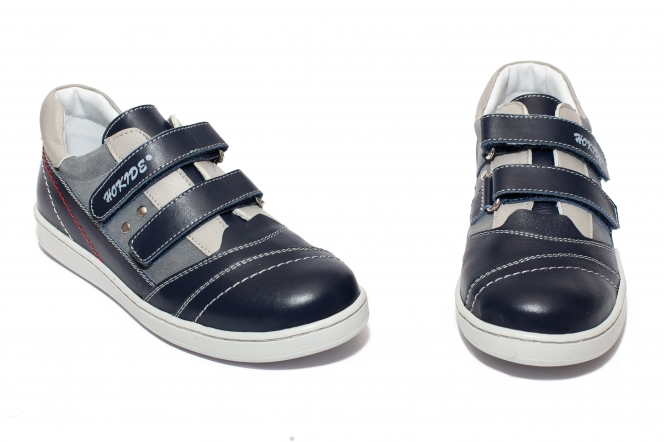 Pantofi sport baieti hokide 223 albastru blu 26-37