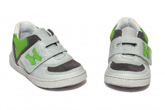 Pantofi sport copii hokide 395 gri verde 18-25