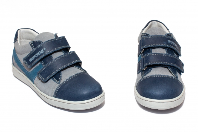 Pantofi sport baieti hokide 398 albastru gri 26-37