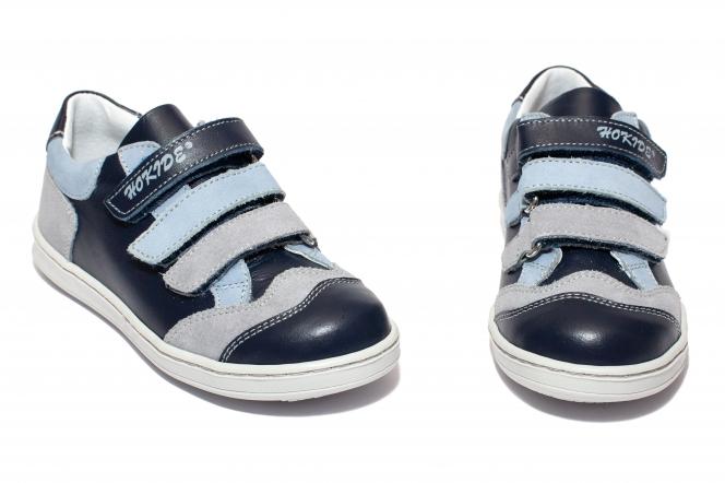 Pantofi sport copii hokide 560 albastru blu 26-35