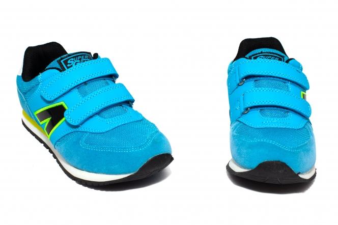 Pantofi sport copii 262 albastru verde 31-35