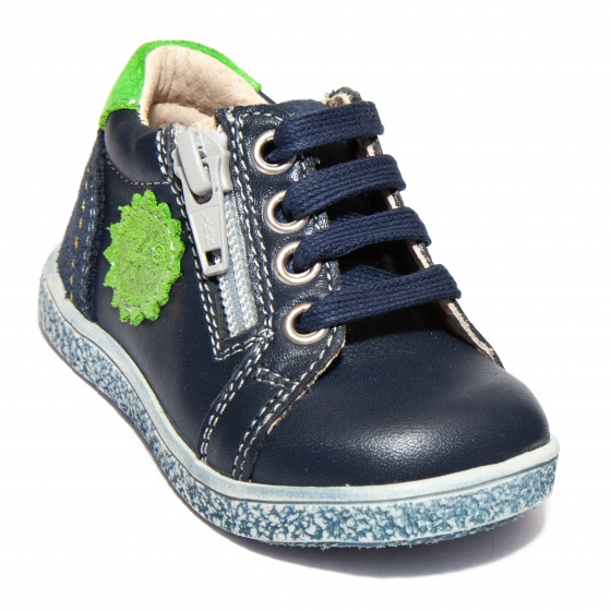 Pantofi sport copii 400 blu verde 18-27