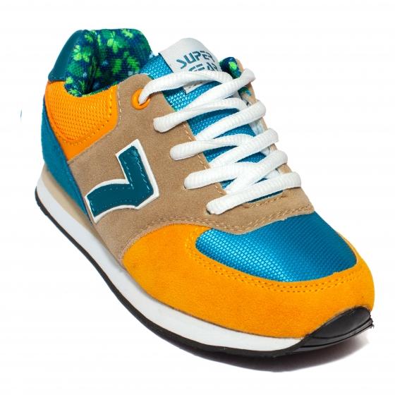 Pantofi sport copii 687 negru gri 31-35