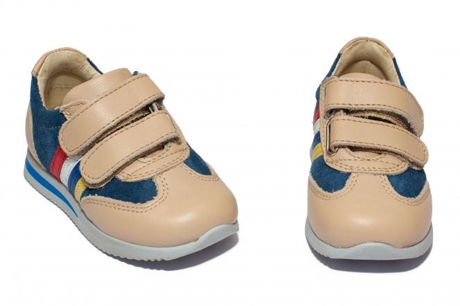 Pantofi sport copii 727 blu bej 19-28