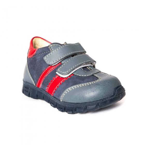 Pantofi sport copii pj shoes Costa blu rosu 18-26