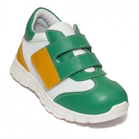 Pantofi sport copii pj shoes Tokyo verde alb 18-26