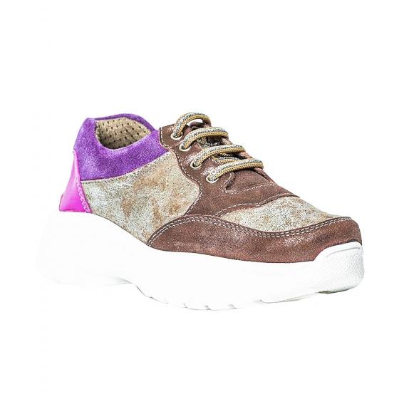 Pantofi sport fete pj shoes Kai auriu mov 27-38
