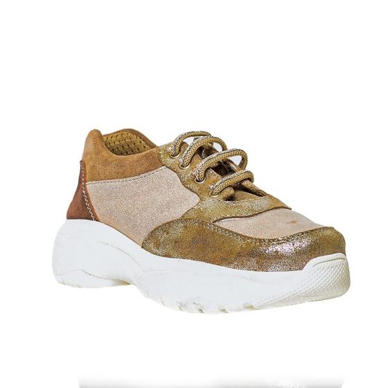Pantofi sport fete pj shoes Kai bej auriu 27-38