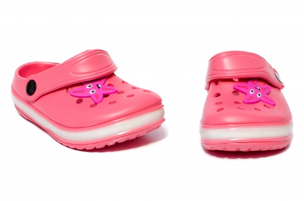 Papuci fete cu leduri 1293 corai 22-29