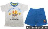 Pijamale baieti Barcelona 1978 gri 98-134