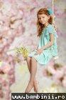 Rochita fete hey princess Jolanda 07.06 turcoaz 3-12ani