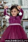Rochita fete hey princess Purple 3luni-12ani