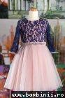Rochite fete Blue Lace 111.12 albastru roz
