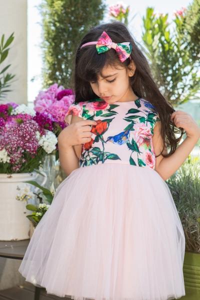 Rochite fete hey princess 111.01 flori 3luni-12ani